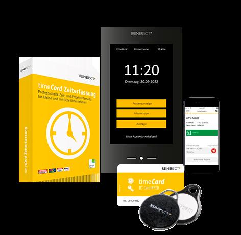 timeCard – die Arbeitszeiterfassung der Zukunft